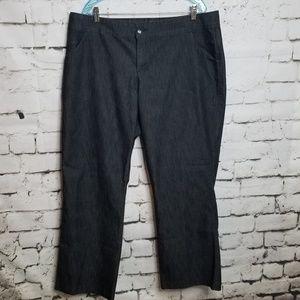 Lee Natural Fit Black Jeans Size 20W